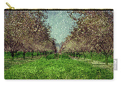 An Orchard In Blossom In The Eila Valley Carry-all Pouch