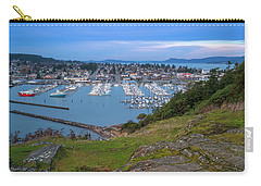 Carry-all Pouch featuring the photograph Anacortes Peaceful Morning by Ken Stanback