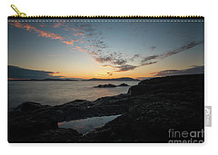 Anacortes Tidepool Sky Window Carry-all Pouch by Mike Reid