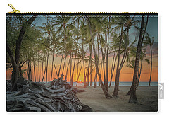 Anaehoomalu Beach Sunset Carry-all Pouch