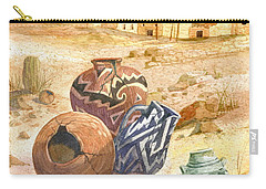 Anasazi Remnants Carry-all Pouch