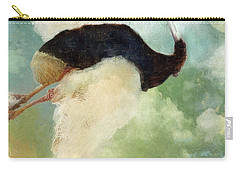 Anastasia's Ostrich Carry-all Pouch by Mindy Sommers