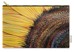 Anatomy Of A Sunflower Carry-all Pouch