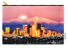 Carry-all Pouch featuring the digital art Anchorage by Elaine Ossipov