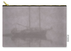 Anchored In Fog #1 Carry-all Pouch by Wally Hampton