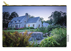 Carry-all Pouch featuring the photograph Ancienne Maison Bordeleau by Chris Bordeleau