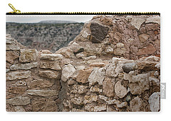 Carry-all Pouch featuring the photograph Ancient Buildings by Phyllis Denton