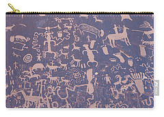 Ancient Carvings Carry-all Pouch