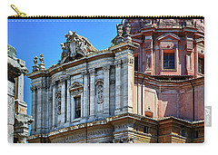 Carry-all Pouch featuring the photograph Ancient Government Building At The Roman Forum by Eduardo Jose Accorinti