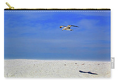 Carry-all Pouch featuring the photograph Ancient Mariner by Marie Hicks