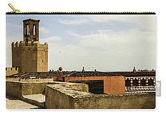 Ancient Moorish Citadel In Badajoz, Spain Carry-all Pouch
