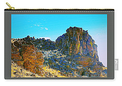 Ancient Oregon Landscapes Carry-all Pouch by Steve Warnstaff