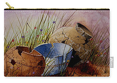 Ancient Relics A Paint Along With Jerry Yarnell' Study. Carry-all Pouch by Jimmy Smith