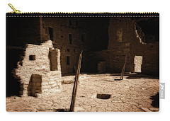 Carry-all Pouch featuring the photograph Ancient Sanctuary by Kurt Van Wagner