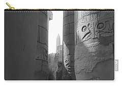 Carry-all Pouch featuring the photograph Ancient Silence by Silvia Bruno