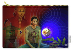 Carry-all Pouch featuring the digital art Ancient Soul by Shadowlea Is