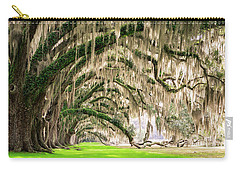 Ancient Southern Oaks Carry-all Pouch by Serge Skiba