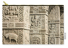 Ancient Temple Carvings Carry-all Pouch