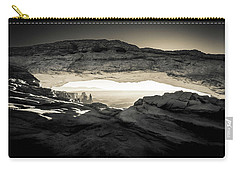 Ancient View Carry-all Pouch by Kristal Kraft