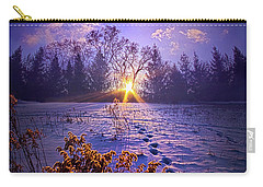 Carry-all Pouch featuring the photograph And Back Again by Phil Koch