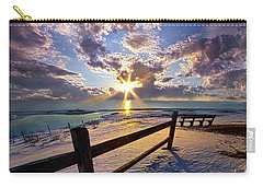 Carry-all Pouch featuring the photograph And I Will Give You Rest. by Phil Koch