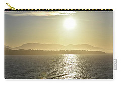 Carry-all Pouch featuring the photograph And The Sun Goes Down by Melissa Lane