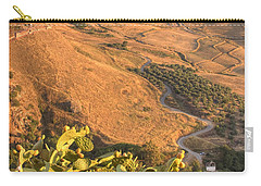 Carry-all Pouch featuring the photograph Andalucian Golden Valley by Ian Middleton