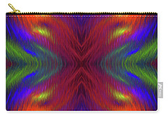 Carry-all Pouch featuring the digital art Andee Design Abstract 1 2015 by Andee Design