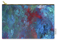 Carry-all Pouch featuring the digital art Andee Design Abstract 1 2017 by Andee Design