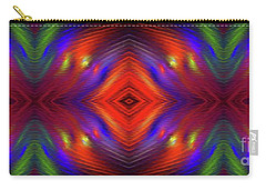 Carry-all Pouch featuring the digital art Andee Design Abstract 3 2015 by Andee Design