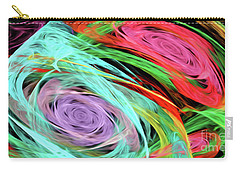 Carry-all Pouch featuring the digital art Andee Design Abstract 7 2015 by Andee Design