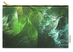 Carry-all Pouch featuring the digital art Andee Design Abstract 72 2017 by Andee Design