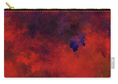 Carry-all Pouch featuring the digital art Andee Design Abstract 73 2017 by Andee Design