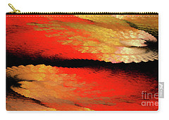 Carry-all Pouch featuring the digital art Andee Design Abstract 77 2017 by Andee Design