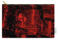 Carry-all Pouch featuring the digital art Andee Design Abstract 80 2017 by Andee Design