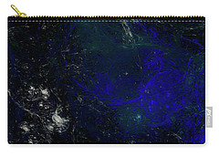 Carry-all Pouch featuring the digital art Andee Design Abstract 81 2017 by Andee Design