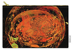 Carry-all Pouch featuring the digital art Andee Design Abstract 82 2017 by Andee Design