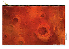 Carry-all Pouch featuring the digital art Andee Design Abstract 86 2017 by Andee Design