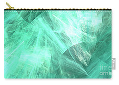 Carry-all Pouch featuring the digital art Andee Design Abstract 89 2017 by Andee Design