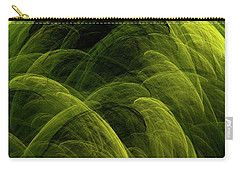 Carry-all Pouch featuring the digital art Andee Design Abstract 90 2017 by Andee Design