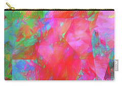 Carry-all Pouch featuring the digital art Andee Design Abstract 92 2017 by Andee Design