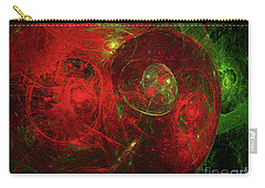 Carry-all Pouch featuring the digital art Andee Design Abstract 96 2017 by Andee Design