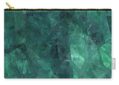 Carry-all Pouch featuring the digital art Andee Design Abstract 97 2017 by Andee Design
