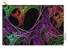 Carry-all Pouch featuring the digital art Andee Design Abstract 98 2017 by Andee Design