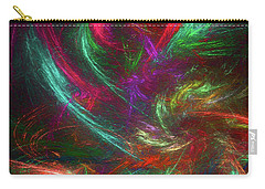 Carry-all Pouch featuring the digital art Andee Design Abstract 99 2017 by Andee Design