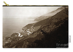 Anderson Creek Labor Camp Big Sur April 3 1931 Carry-all Pouch