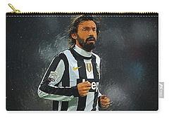 Andrea Pirlo Carry-all Pouch by Semih Yurdabak