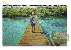 Carry-all Pouch featuring the painting Andrew by Jennifer Watson