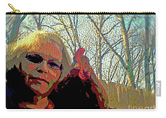 Andy And Me Carry-all Pouch by Donna Brown