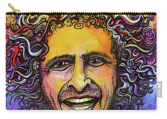 Carry-all Pouch featuring the painting Andy Frasco by David Sockrider